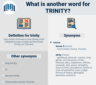 trinity, synonym trinity, another word for trinity, words like trinity, thesaurus trinity