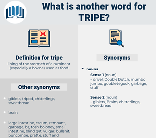 tripe, synonym tripe, another word for tripe, words like tripe, thesaurus tripe