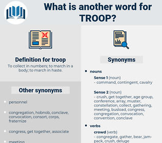 troop, synonym troop, another word for troop, words like troop, thesaurus troop