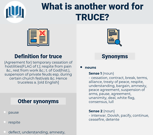 truce, synonym truce, another word for truce, words like truce, thesaurus truce