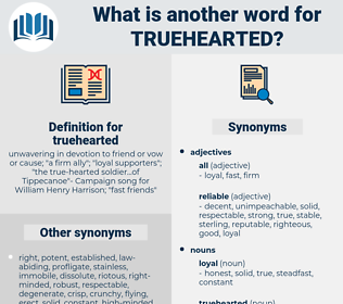 truehearted, synonym truehearted, another word for truehearted, words like truehearted, thesaurus truehearted