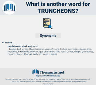truncheons, synonym truncheons, another word for truncheons, words like truncheons, thesaurus truncheons