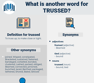 trussed, synonym trussed, another word for trussed, words like trussed, thesaurus trussed