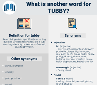 tubby, synonym tubby, another word for tubby, words like tubby, thesaurus tubby