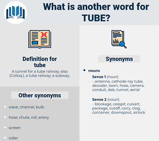 tube, synonym tube, another word for tube, words like tube, thesaurus tube