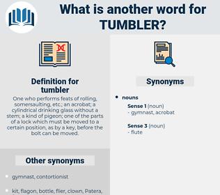 tumbler, synonym tumbler, another word for tumbler, words like tumbler, thesaurus tumbler
