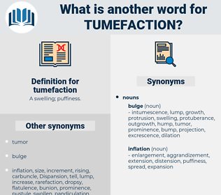 tumefaction, synonym tumefaction, another word for tumefaction, words like tumefaction, thesaurus tumefaction