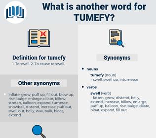 tumefy, synonym tumefy, another word for tumefy, words like tumefy, thesaurus tumefy