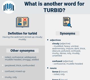 turbid, synonym turbid, another word for turbid, words like turbid, thesaurus turbid