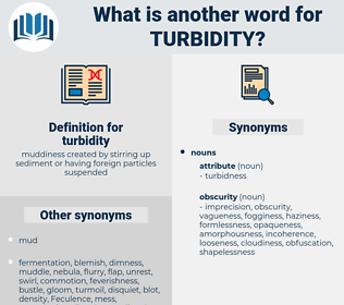 turbidity, synonym turbidity, another word for turbidity, words like turbidity, thesaurus turbidity