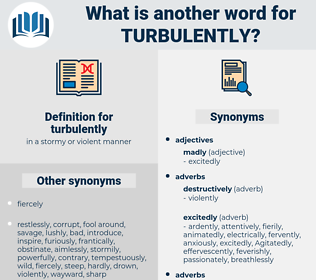 turbulently, synonym turbulently, another word for turbulently, words like turbulently, thesaurus turbulently