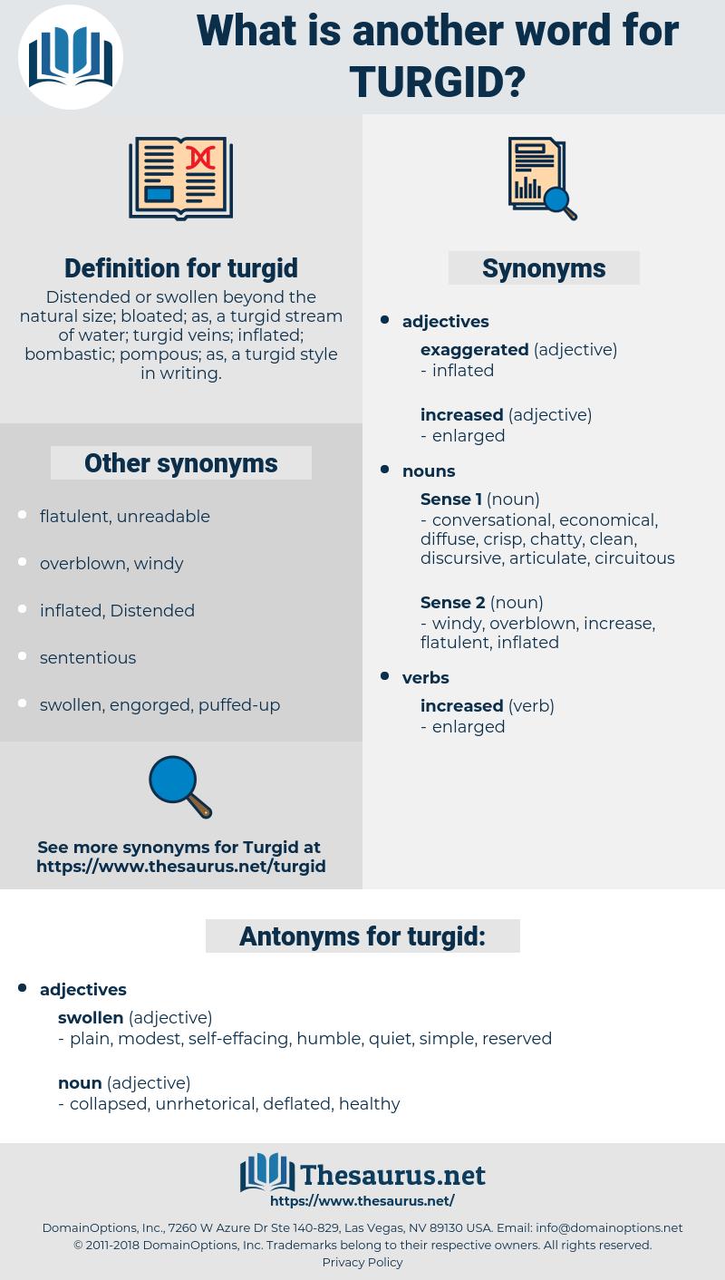 turgid, synonym turgid, another word for turgid, words like turgid, thesaurus turgid