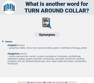 turn-around collar, synonym turn-around collar, another word for turn-around collar, words like turn-around collar, thesaurus turn-around collar