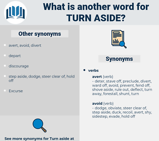 turn aside, synonym turn aside, another word for turn aside, words like turn aside, thesaurus turn aside