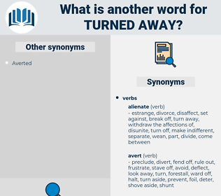 turned away, synonym turned away, another word for turned away, words like turned away, thesaurus turned away