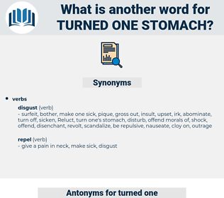 turned one stomach, synonym turned one stomach, another word for turned one stomach, words like turned one stomach, thesaurus turned one stomach