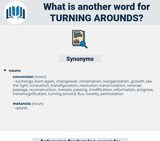 turning arounds, synonym turning arounds, another word for turning arounds, words like turning arounds, thesaurus turning arounds