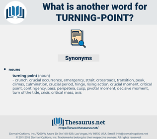 turning point, synonym turning point, another word for turning point, words like turning point, thesaurus turning point
