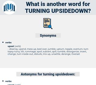 turning upsidedown, synonym turning upsidedown, another word for turning upsidedown, words like turning upsidedown, thesaurus turning upsidedown