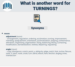 turnings, synonym turnings, another word for turnings, words like turnings, thesaurus turnings