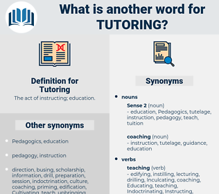 Tutoring, synonym Tutoring, another word for Tutoring, words like Tutoring, thesaurus Tutoring