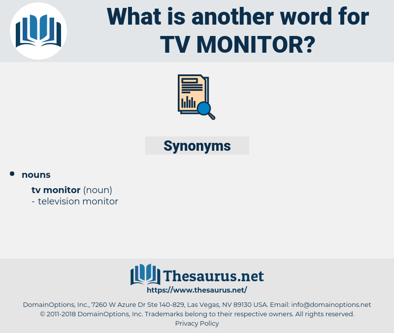 Tv Monitor, synonym Tv Monitor, another word for Tv Monitor, words like Tv Monitor, thesaurus Tv Monitor