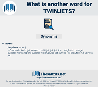 twinjets, synonym twinjets, another word for twinjets, words like twinjets, thesaurus twinjets