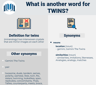twins, synonym twins, another word for twins, words like twins, thesaurus twins