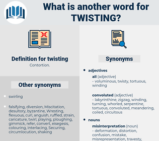 twisting, synonym twisting, another word for twisting, words like twisting, thesaurus twisting