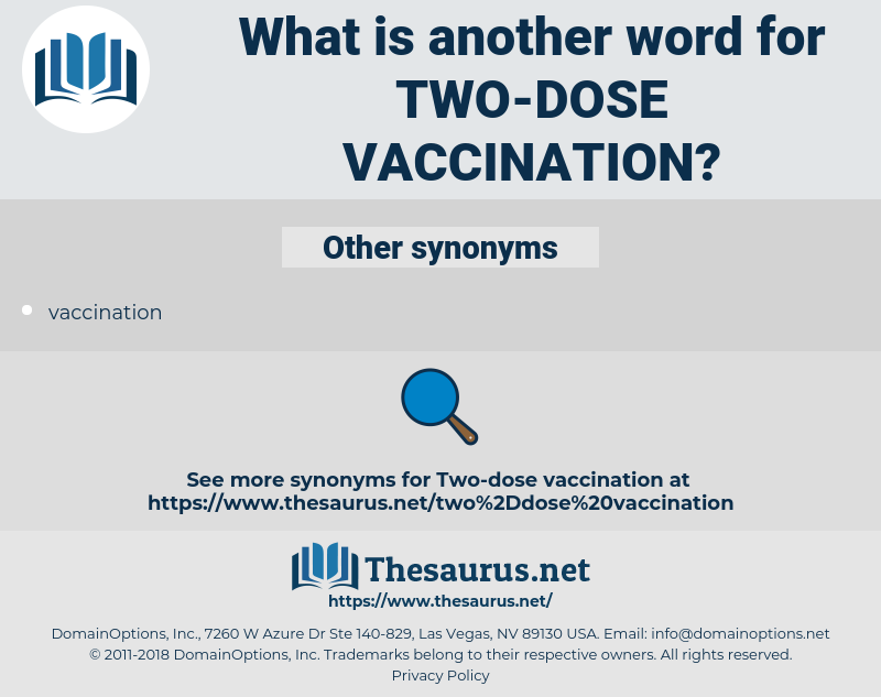 two-dose vaccination, synonym two-dose vaccination, another word for two-dose vaccination, words like two-dose vaccination, thesaurus two-dose vaccination