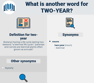 two-year, synonym two-year, another word for two-year, words like two-year, thesaurus two-year