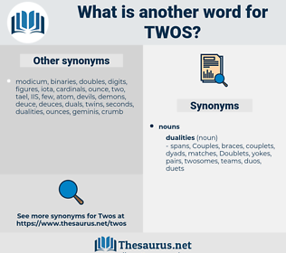 twos, synonym twos, another word for twos, words like twos, thesaurus twos