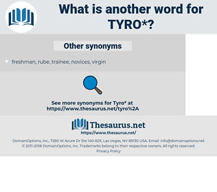 tyro, synonym tyro, another word for tyro, words like tyro, thesaurus tyro