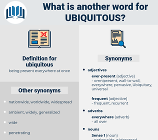 ubiquitous, synonym ubiquitous, another word for ubiquitous, words like ubiquitous, thesaurus ubiquitous