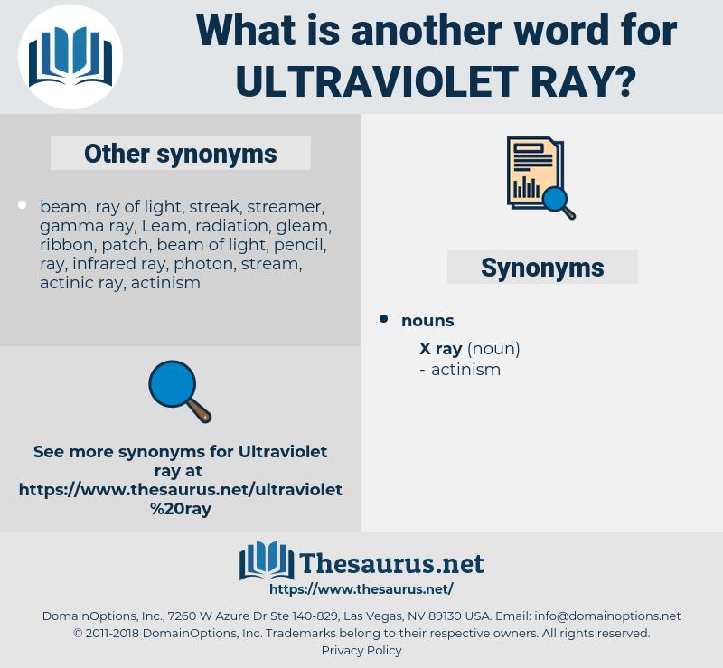 Ultraviolet Ray, synonym Ultraviolet Ray, another word for Ultraviolet Ray, words like Ultraviolet Ray, thesaurus Ultraviolet Ray