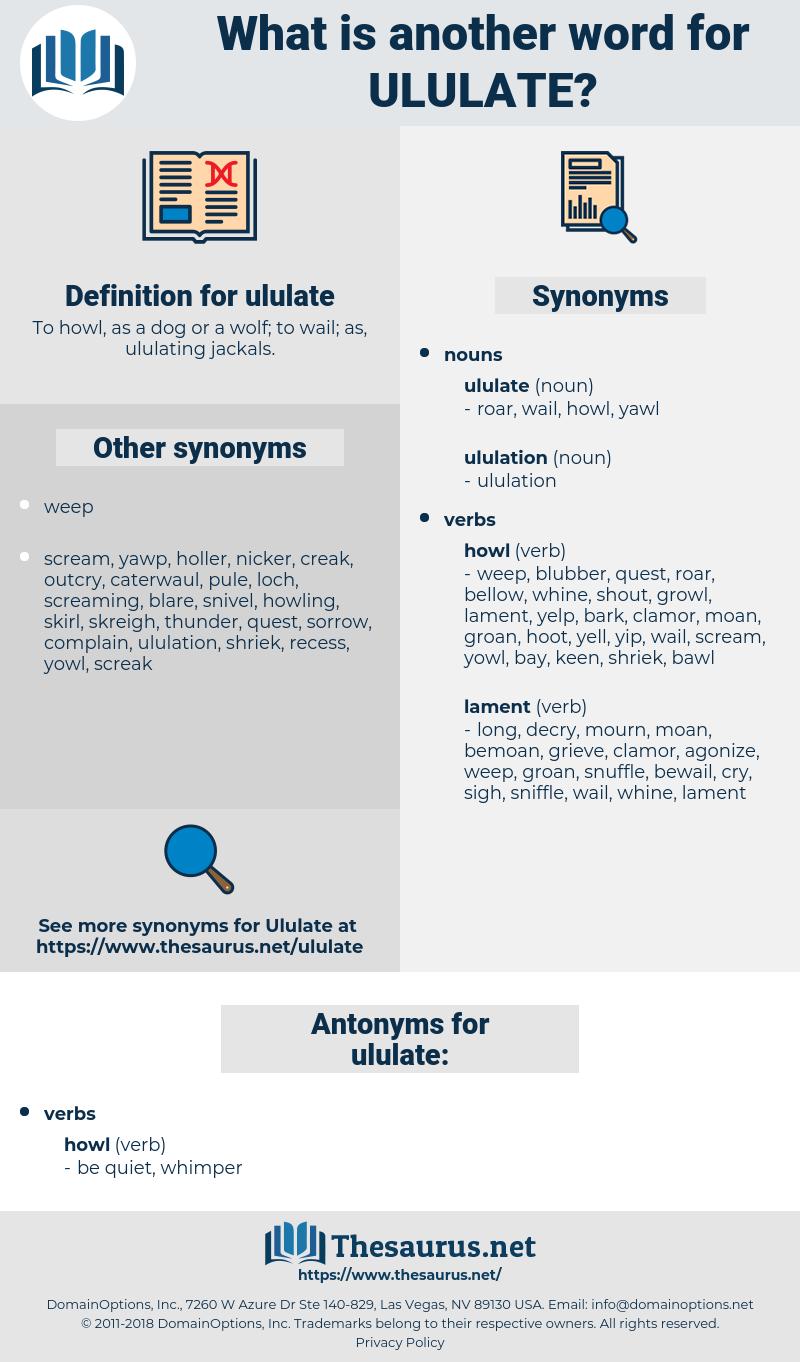 ululate, synonym ululate, another word for ululate, words like ululate, thesaurus ululate