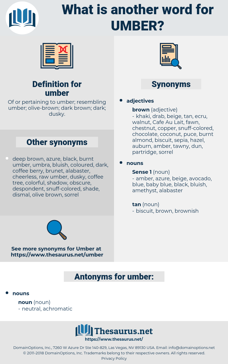 umber, synonym umber, another word for umber, words like umber, thesaurus umber