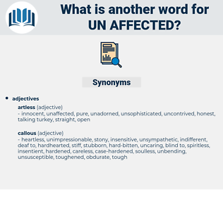 un affected, synonym un affected, another word for un affected, words like un affected, thesaurus un affected