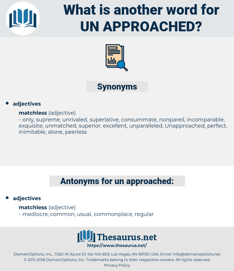 un-approached, synonym un-approached, another word for un-approached, words like un-approached, thesaurus un-approached