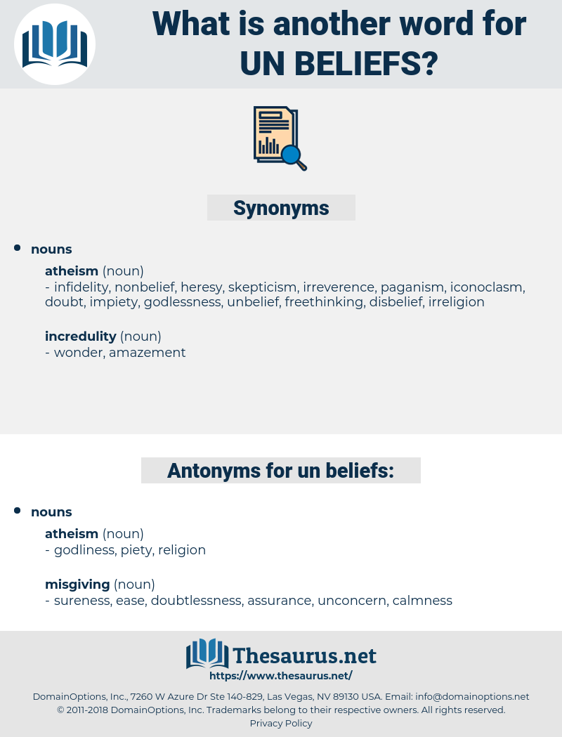 un beliefs, synonym un beliefs, another word for un beliefs, words like un beliefs, thesaurus un beliefs