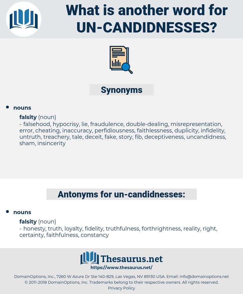 un candidnesses, synonym un candidnesses, another word for un candidnesses, words like un candidnesses, thesaurus un candidnesses