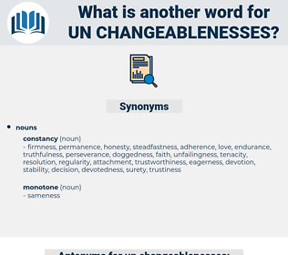 un-changeablenesses, synonym un-changeablenesses, another word for un-changeablenesses, words like un-changeablenesses, thesaurus un-changeablenesses