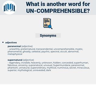 un comprehensible, synonym un comprehensible, another word for un comprehensible, words like un comprehensible, thesaurus un comprehensible