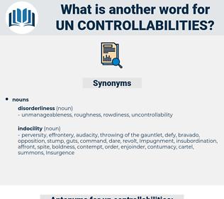 un controllabilities, synonym un controllabilities, another word for un controllabilities, words like un controllabilities, thesaurus un controllabilities