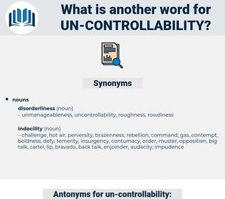 un controllability, synonym un controllability, another word for un controllability, words like un controllability, thesaurus un controllability