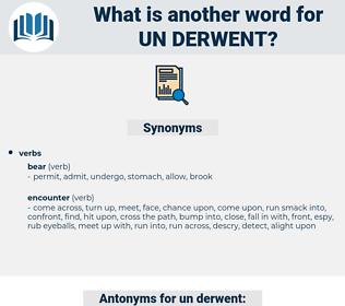 un derwent, synonym un derwent, another word for un derwent, words like un derwent, thesaurus un derwent