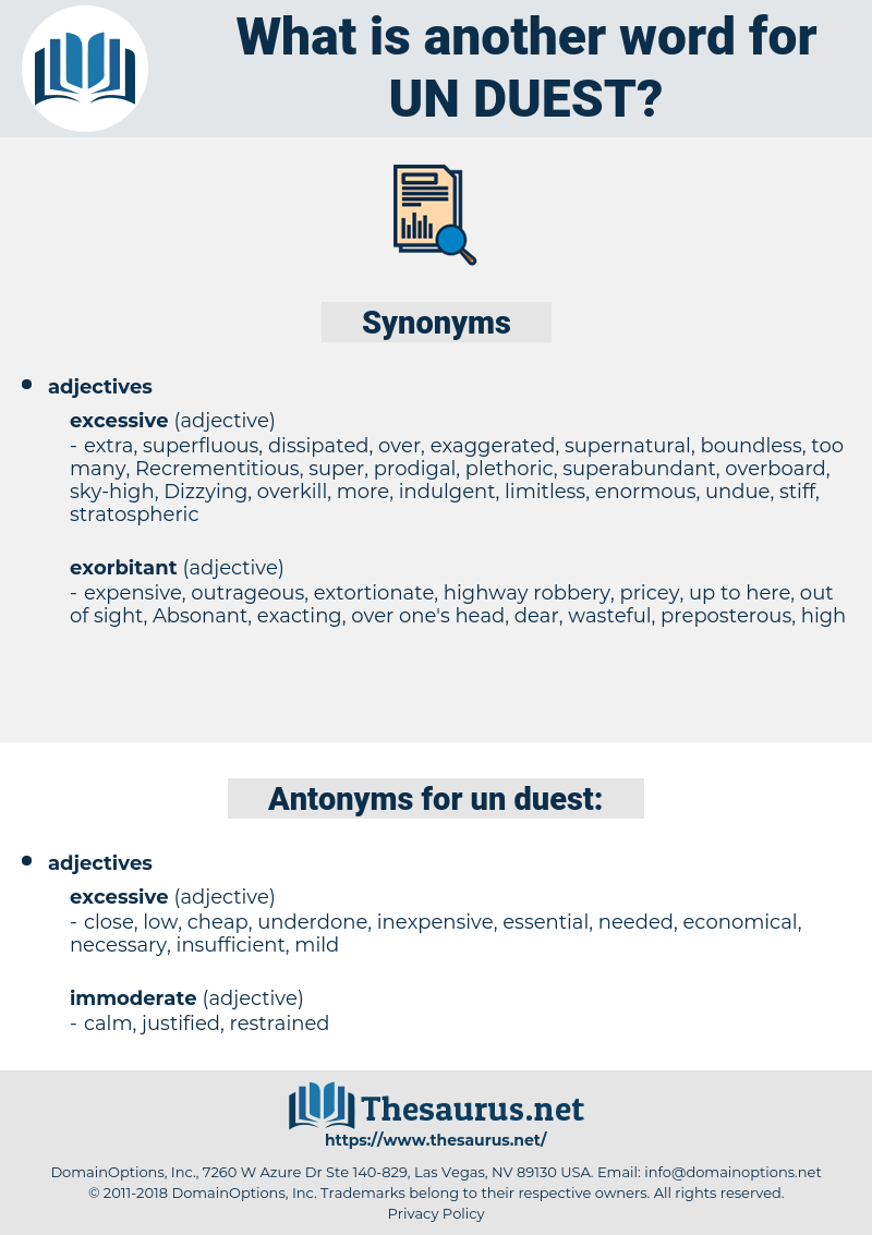 un-duest, synonym un-duest, another word for un-duest, words like un-duest, thesaurus un-duest