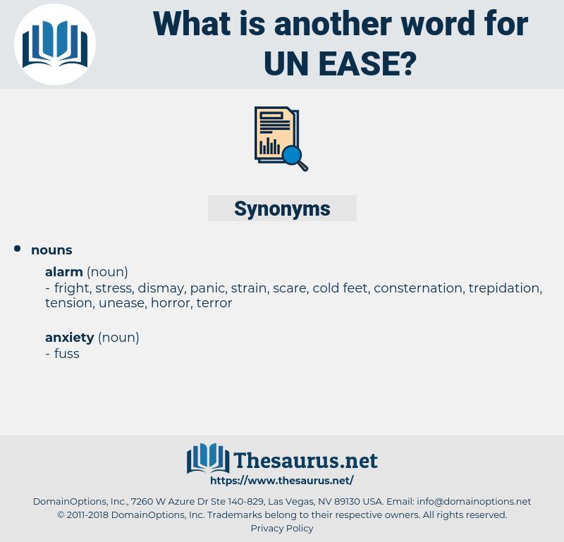 un-ease, synonym un-ease, another word for un-ease, words like un-ease, thesaurus un-ease