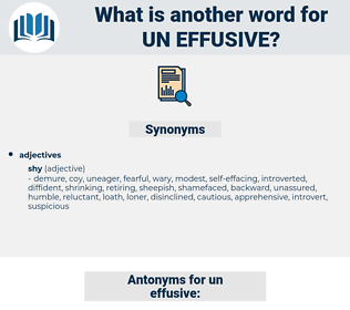 un-effusive, synonym un-effusive, another word for un-effusive, words like un-effusive, thesaurus un-effusive