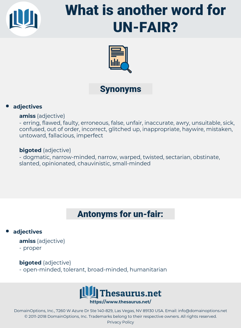 un fair, synonym un fair, another word for un fair, words like un fair, thesaurus un fair